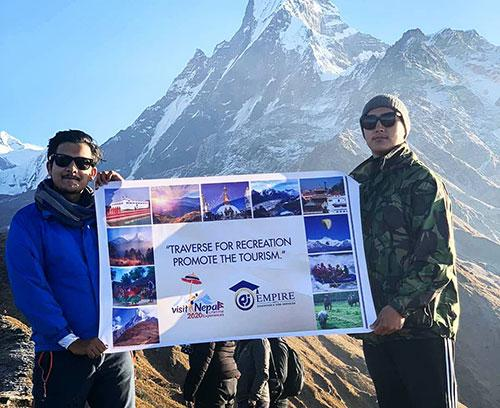Promoting Tourism of Nepal 1